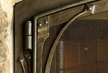 Forged Fireplace Fixtures