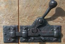 Forged Hinges and Hardware