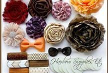 HSE DIY Headband Kits / by Hairbow Supplies, Etc.