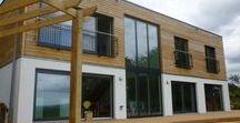 Architektenhäuser- Großbritannien / Hier zeigen wir verschiedene frei geplante Architektenhäuser, die in Großbritannien von WeberHaus gebaut wurden.