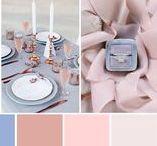 Rose quartz and serenity Wedding