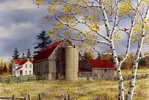 barns / by Susan Krall