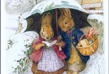 ARTIST: BEATRIX POTTER: ILLUSTRATOR & WRITER  / by SAGELAINE *