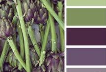 ART: COLOR PALETTES FOR LIVING & GARDENING / by SAGELAINE *