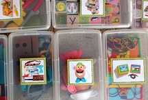 {Kids} Everything In It's Place / Storage solutions for toys, clothes and more  / by Laura Murton
