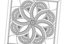 Line Drawings / by Quiltworx Judy Niemeyer