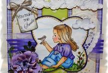 Elisabeth Bell Stamps / Inspirational creations featuring Elisabeth Bell Designs / by Lynda Nielsen