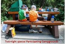 May 28 & 29 Particpating Campgrounds / Participating campgrounds are offering campers reduced rates to stay: •Two nights (Friday & Saturday) May 27-28, 2016(only) for $50.00+GST