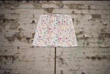 Bespoke Lampshades / Lampshades made by Cocoon Home (www.cocoonhome.co.uk)
