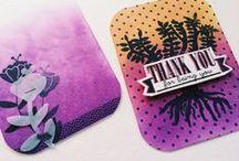 Crafts with ink / The best craft projects using INK - get inspired beyond stamping!!