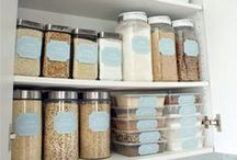● Pantry Fridge & Freezer / #organize #pantry #organized #food #refrigerator #freezer #organized #storage #kitchen #clutter / by TxTerri Tips