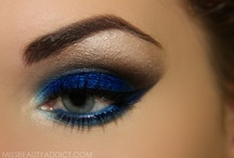 eyeshadow + eyeliner = love / if your an eyeshadow junkie like me then you'll love this! / by Tasha koku