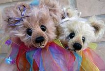 Bears. / I have made many bears for my own enjoyment, also to sell and for my grandchildren, but I love all bears as they are so cuddly and lovable.