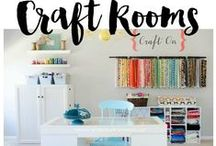 BEST Craft Rooms / Places we would love to create in! From studios to craft rooms to scrapbook rooms and beyond. Follow this board for great craft storage ideas, see inspiring craft rooms.