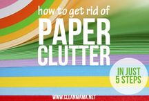 ● Organize | Paper Clutter / #organizing #paper #documents #printables #list #checklist #binder #clutter #tiger / by TxTerri Tips