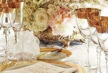 Beautiful Tables & Glassware / I love a beautiful table setting........Thank you for following and pinning respectfully. :-) / by Margaret Darby