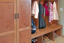 ⌂ Mudroom / #mudroom #entry #entryway #landingspot #home #decor #design #organized #launchpad / by TxTerri Tips