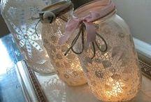 Mason Jar Ideas / by Julie Ackerman Castaneda