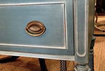 Furniture makeovers / by Kathy Gallagher