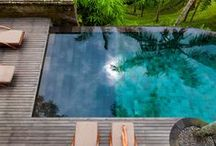 ⌂ Pool Paradise / #pool #swim #swimming #pools #home / by TxTerri Tips