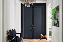 Hall, entrance, laundry and other home ideas / by Rebecca Johnson