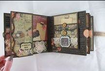 MINI'S & ALBUMS / Small and large scrapbook albums / by Wendy Brenneise