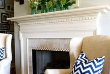 Fireplace / by Kathy Gallagher