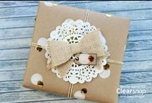 Ways To Wrap / Gift wrapping and more - tags!