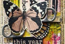* Art (Junk Journal) * / The JUNK JOURNAL ....Love! Love! Love! / by Patty Apple Art