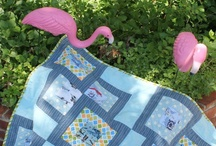 Yard Flamingos!