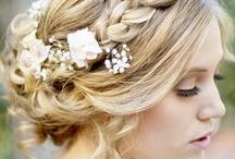 wedding day hair !