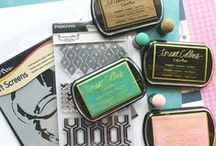 Pigment Ink: ColorBox Pigment Ink {Clearsnap} / All things created with ColorBox Pigment Ink