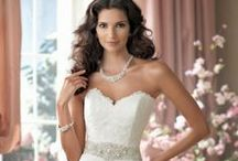 Beautiful Wedding Gowns, Veils, & Accessories / White, Black or Color......To each their own. / by Margaret Darby