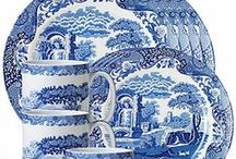 Beautiful Blue & White China & Glassware / by Margaret Darby