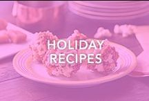 Holiday Recipes / How will you make it through the holidays without gaining weight? Easy! Our Holiday Recipes will limit temptation without restricting flavor.