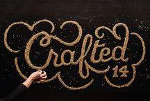 Typography / Typographical inspiration