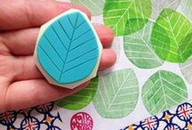 Stamping / Stamping, rubber stamps, rolling stamps, hand carved stamps -- all things stamps!