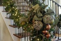 """""""HOME""""...Decorate It for the Holidays ~ Christmas / Hope you enjoy decorating as much as I do.......  ( I have divided my Christmas and Fall Decorating, check the Fall Decorating board).........Thank you for following and pinning respectfully. :-) / by Margaret Darby"""