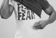fcuk fear x Anthony Joshua / As worn by heavyweight British boxer Anthony Joshua, we bring fcuk fear back to the ring / by French Connection