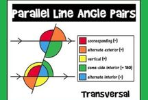 MATH-8: Geometric Relationships / ...Angle Relationships...Parallel Lines...Volume...