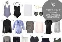 ✈ Travel Packing Clothes | Capsules / #travel #traveling #pack #packing #capsule #wardrobe #clothes #clothing #vacation #wear / by TxTerri Tips