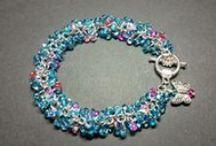 Chainmaille & Wire Jewelry / Pretty pretties!  Chain mail, chainmaille, chainmail, jumprings, wire and beaded jewelry.   Handmade jewelry pieces. / by Tracy H
