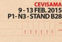 CEVISAMA 2015 / Cevisama 2015 Fair (9/02/2015 y el 13/02/2015)  in Valencia. Vives shows its 3 novelties in porcelain tiles, floor tiles and coatings. Wooden ceramics, cements, hydraulics and so much more.