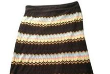 Skirts / Gently worn skirts for sale in my Tradesy closet - all prices include priority mail shipping! / by Shop OohLaLoveIt