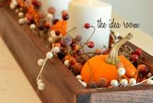 Seasonal Decor / Fall, Winter, Summer, & Spring Decor Inspiration