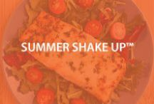 Summer Shake Up / Our 7-day SUMMER SHAKE-UP KIT is a great start to your weight loss for the summer. The kit features delicious and nutritionally packed shakes, crunchers, bars, microwavable lean and green meals, and a FREE Medifast® BlenderBottle® Classic™. http://bit.ly/1U9k77w