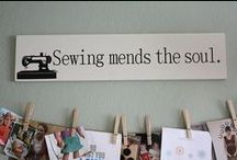 Sew many ideas-Sew little time / by Penne Baker