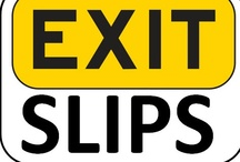 Warm-ups / Exit Slips