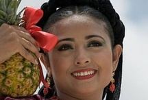 Guelaguetza / Celebrated every July for two weeks in Oaxaca, Mexico. Filled with dances, music costumes and food.