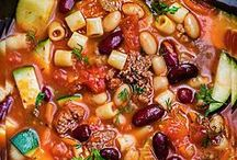 Soup Recipes / Soup recipes to warm the soul.